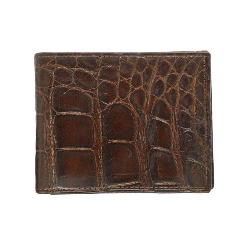 Brown Gator Bi-Fold Wallet