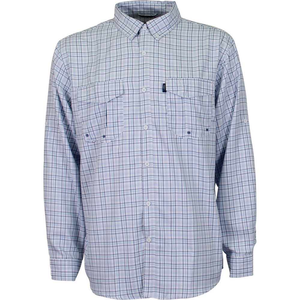 AFTCO Intersection Long Sleeve Button Down
