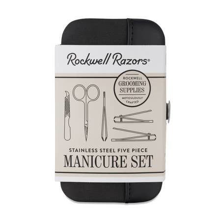Rockwell Razors Five Piece Manicure Set