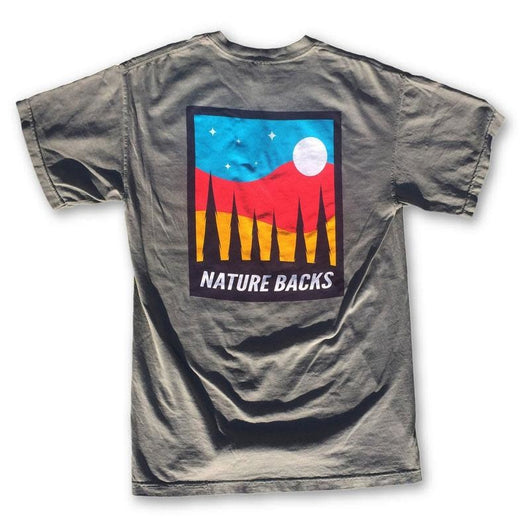 Nature Backs Moon Short Sleeve