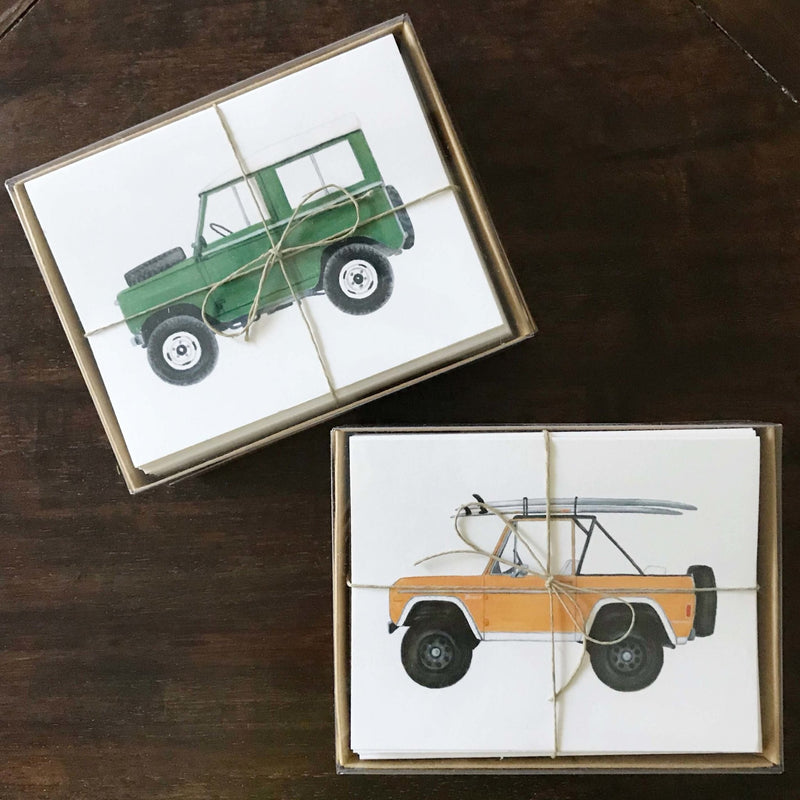 Holly Graham Vintage SUV Notecards