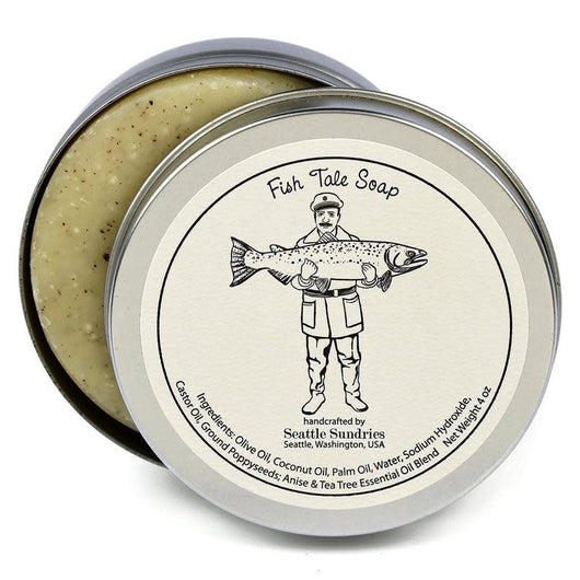 Seattle Sundries Fish Tales Soap
