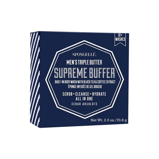 Spongelle Men's Supreme Buffer (Cedar)