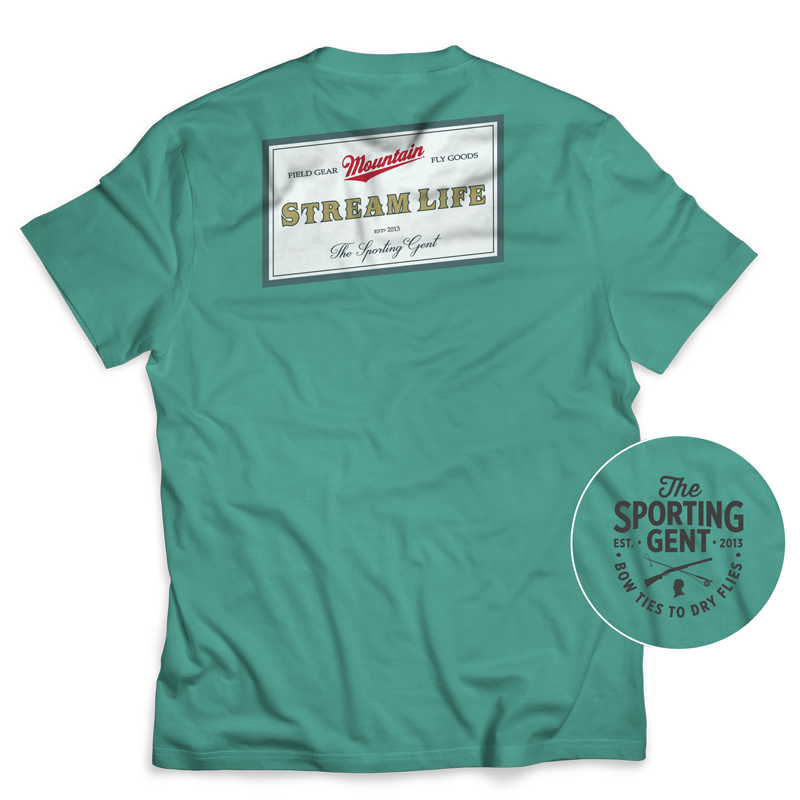 Mountain Stream Life Short Sleeve Tee