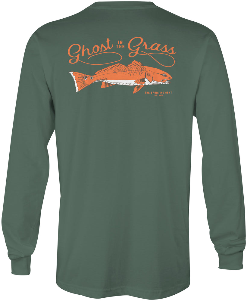 Ghost in the Grass Long Sleeve Tee