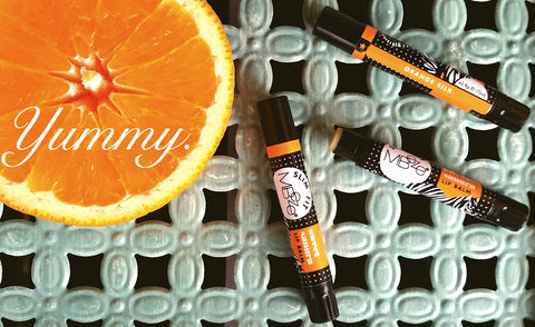 Orange Silk Lip Balm