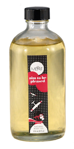 Aim To Be Pleased Natural Body Oil