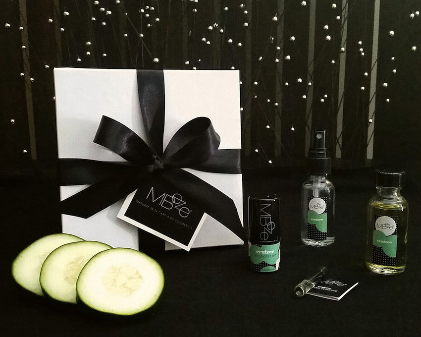 Cucumber Jasmine Fragrance Mini Gift Set