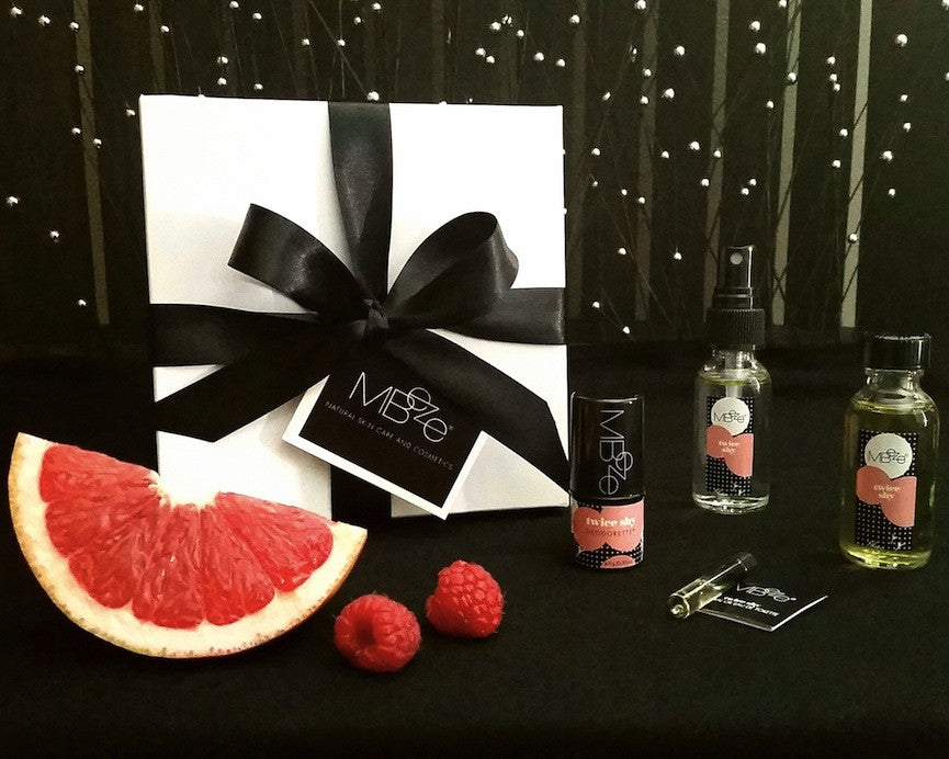Grapefruit Raspberry Fragrance Mini Gift Set