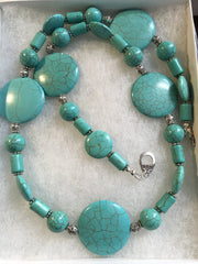 Turquoise Hand Crafted Necklace