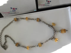 Genuine Honey Jade Pendant Necklace