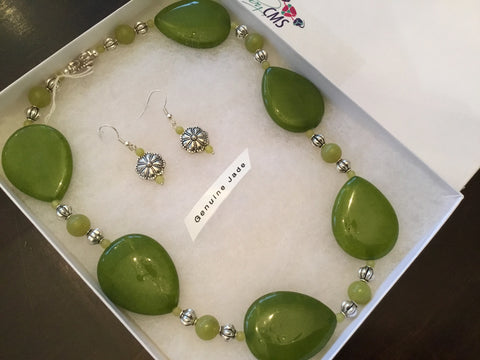 Genuine Jade Choker