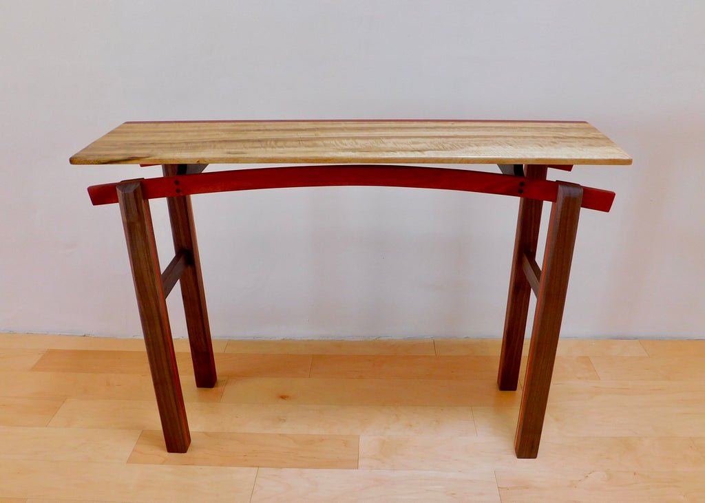 Myrtle Wood Hall Table