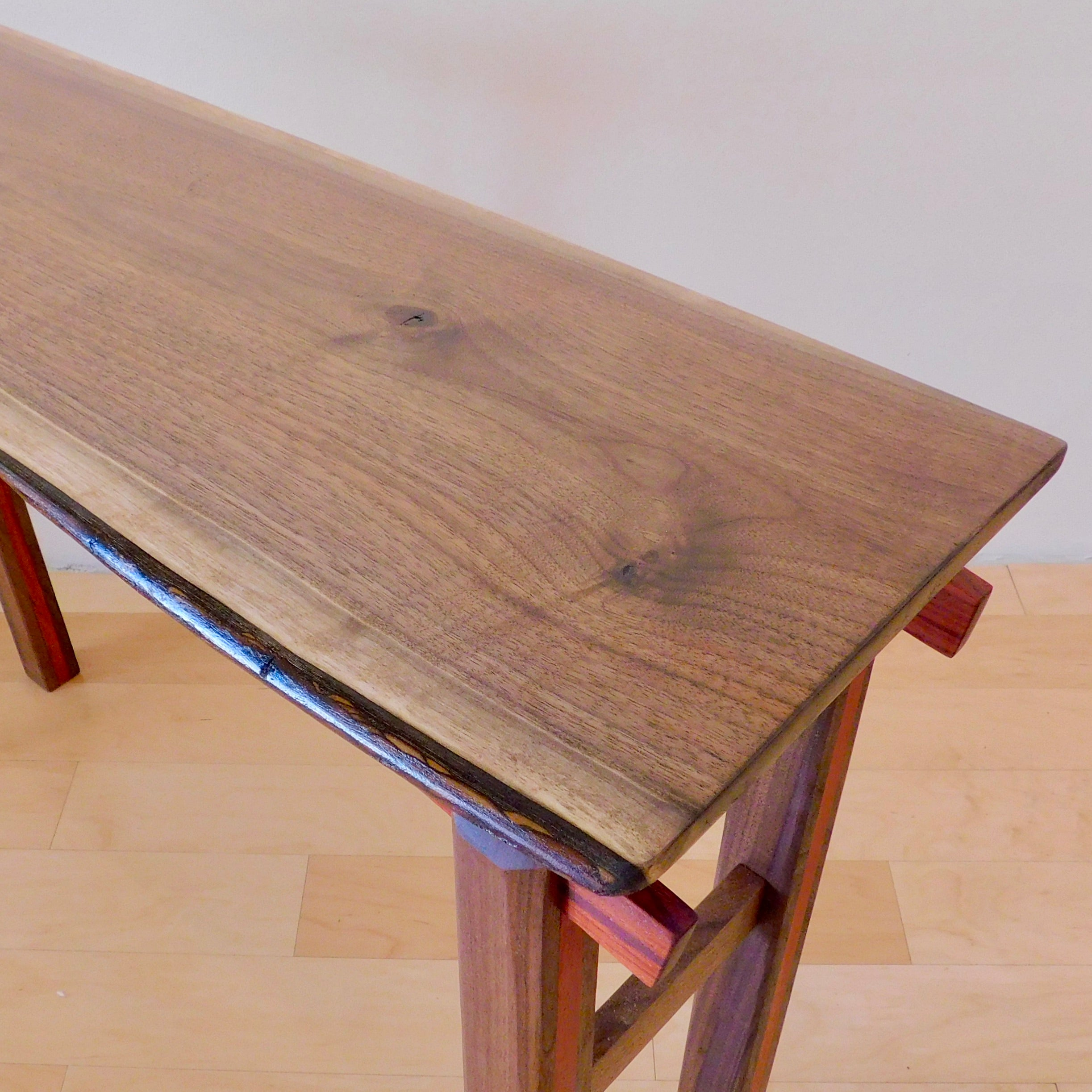 Hall Table | Live Edge Walnut