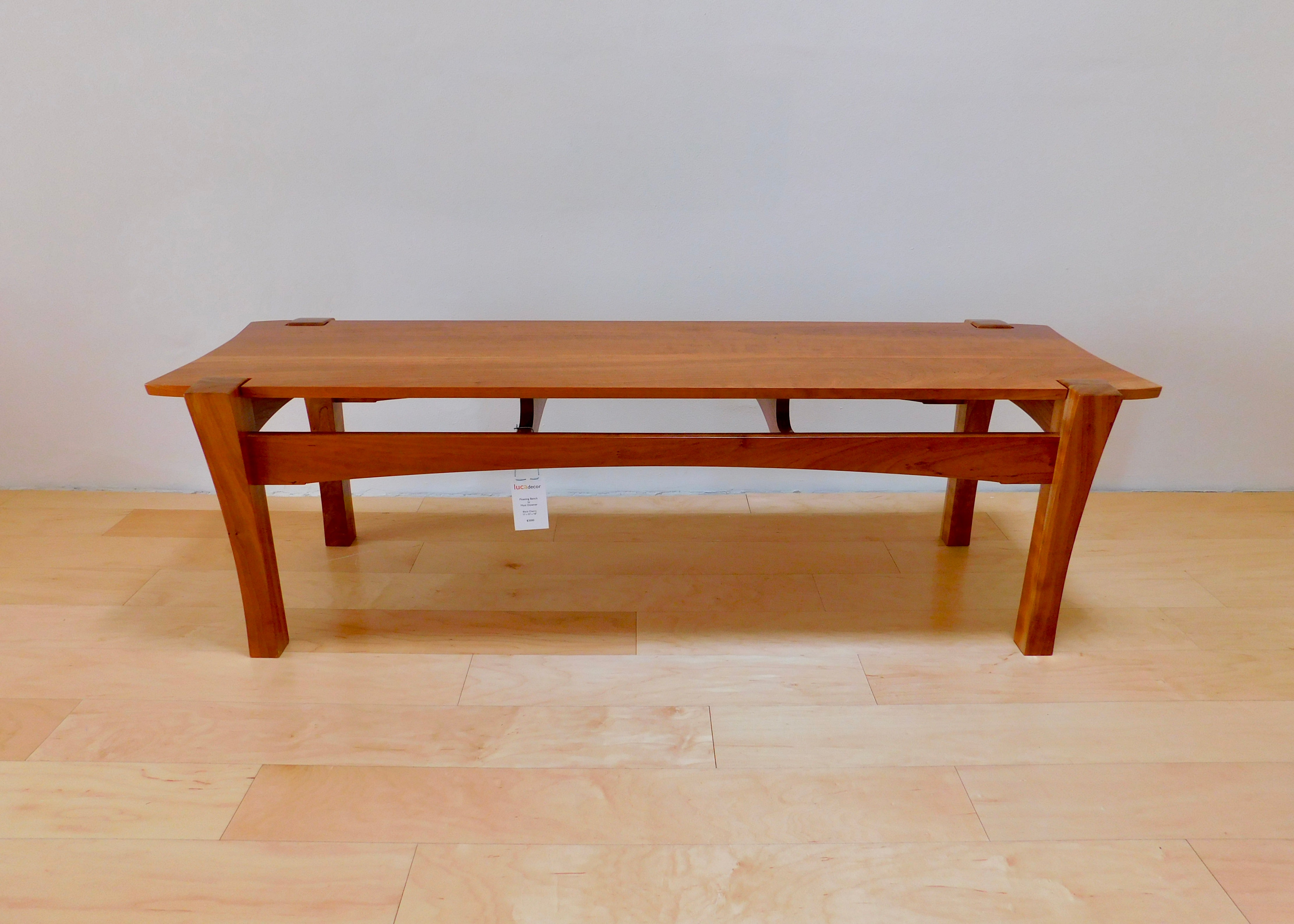 Floating Bench | Cherry
