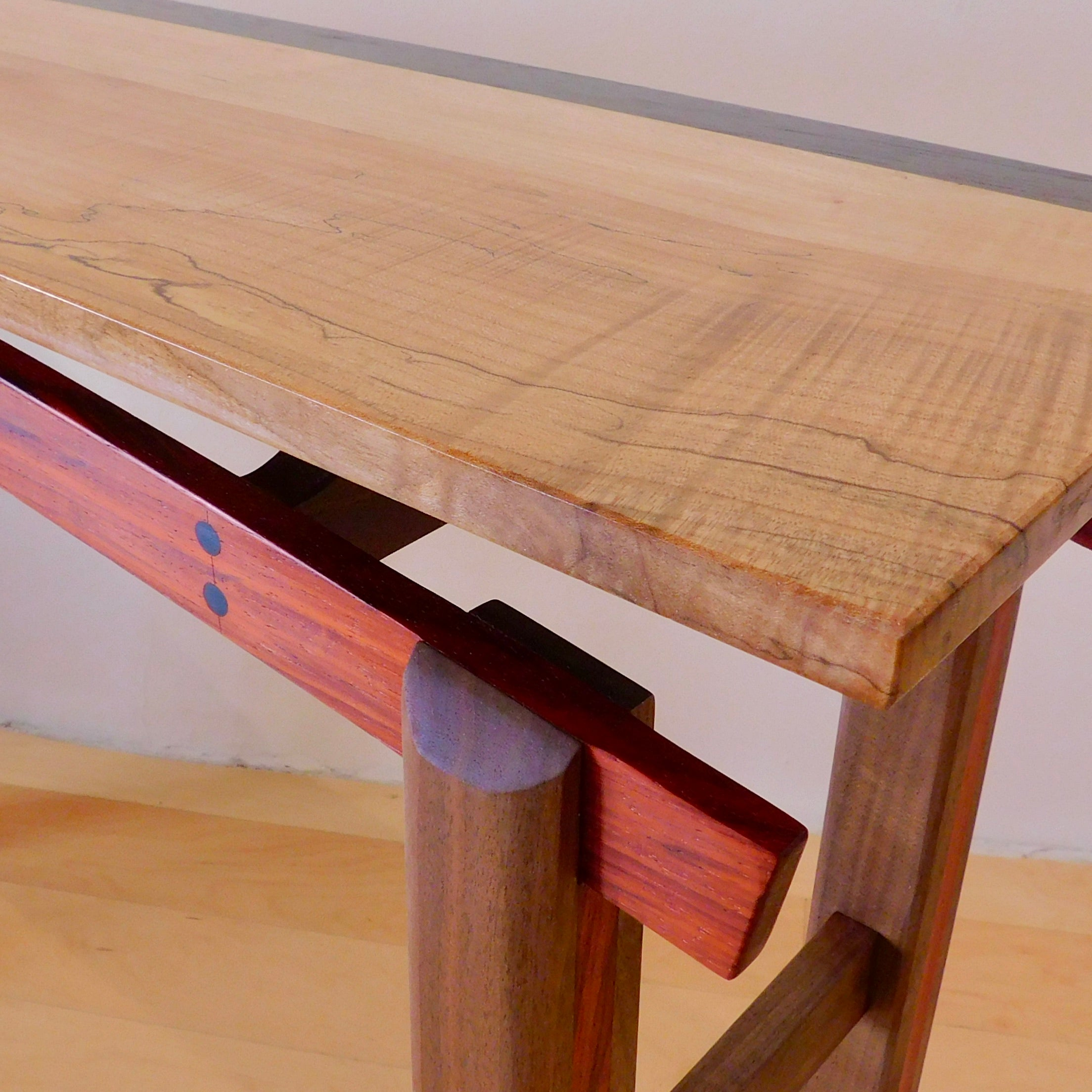 Hall Table | Spalted Curly Maple