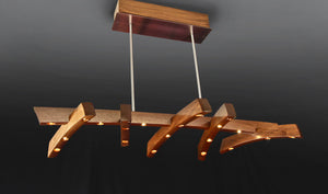 Pulley Chandelier
