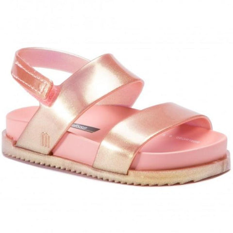Mini Melissa Cosmic Sandal-Rose Gold