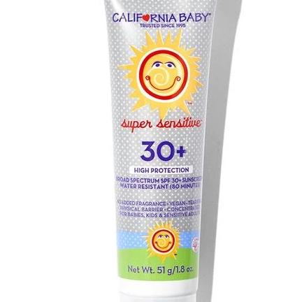 California Baby Super Sensitive™Broad Spectrum SPF 30+ Sunscreen