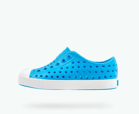 Native Shoes Jefferson Child - Vivid Blue/Shell White