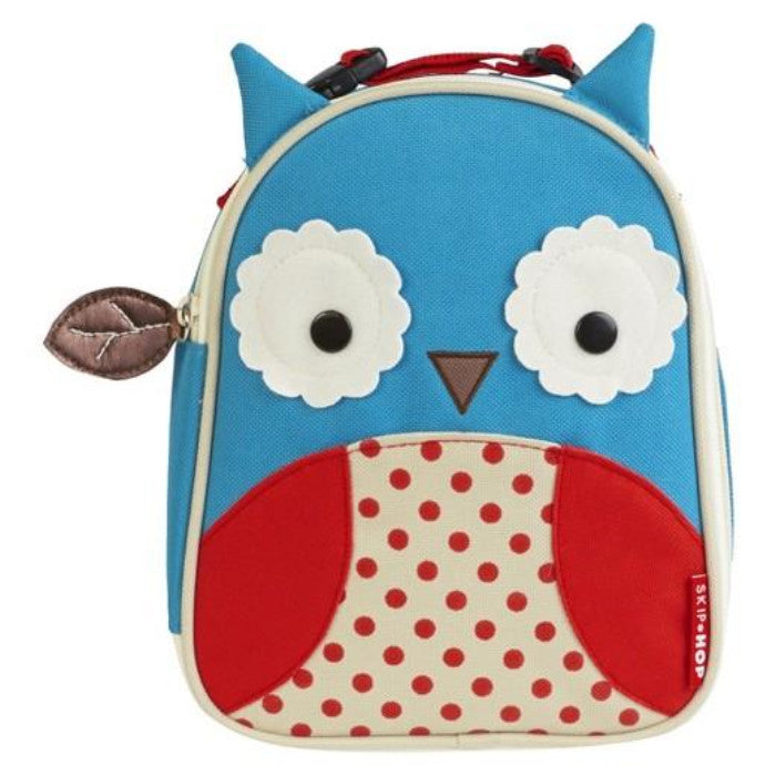 Skip Hop Zoo Lunchie Insulated Lunch Bag Owl