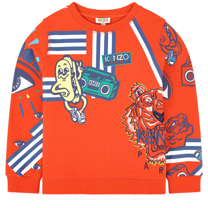 Kenzo Farlow Sweat Shirt - Vivid Orange