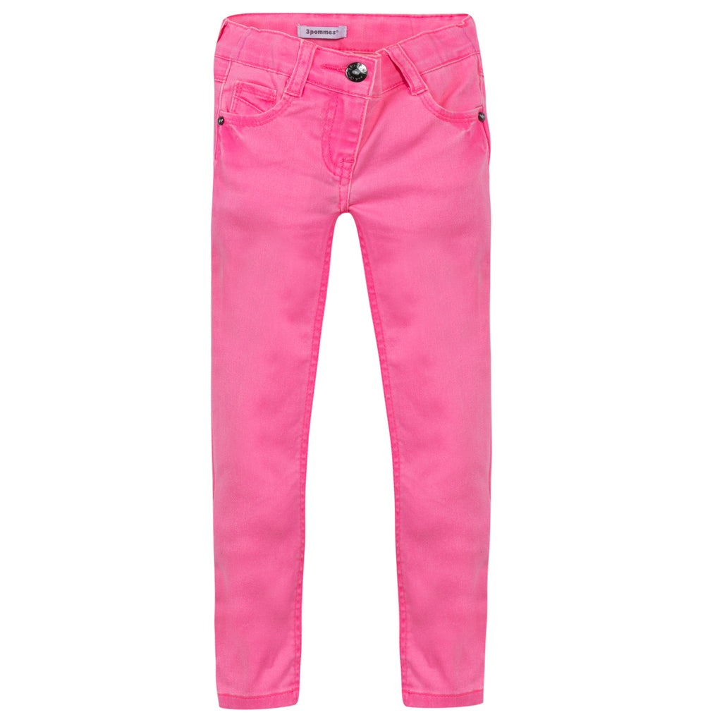 3 Pommes Neon Pink Jeans