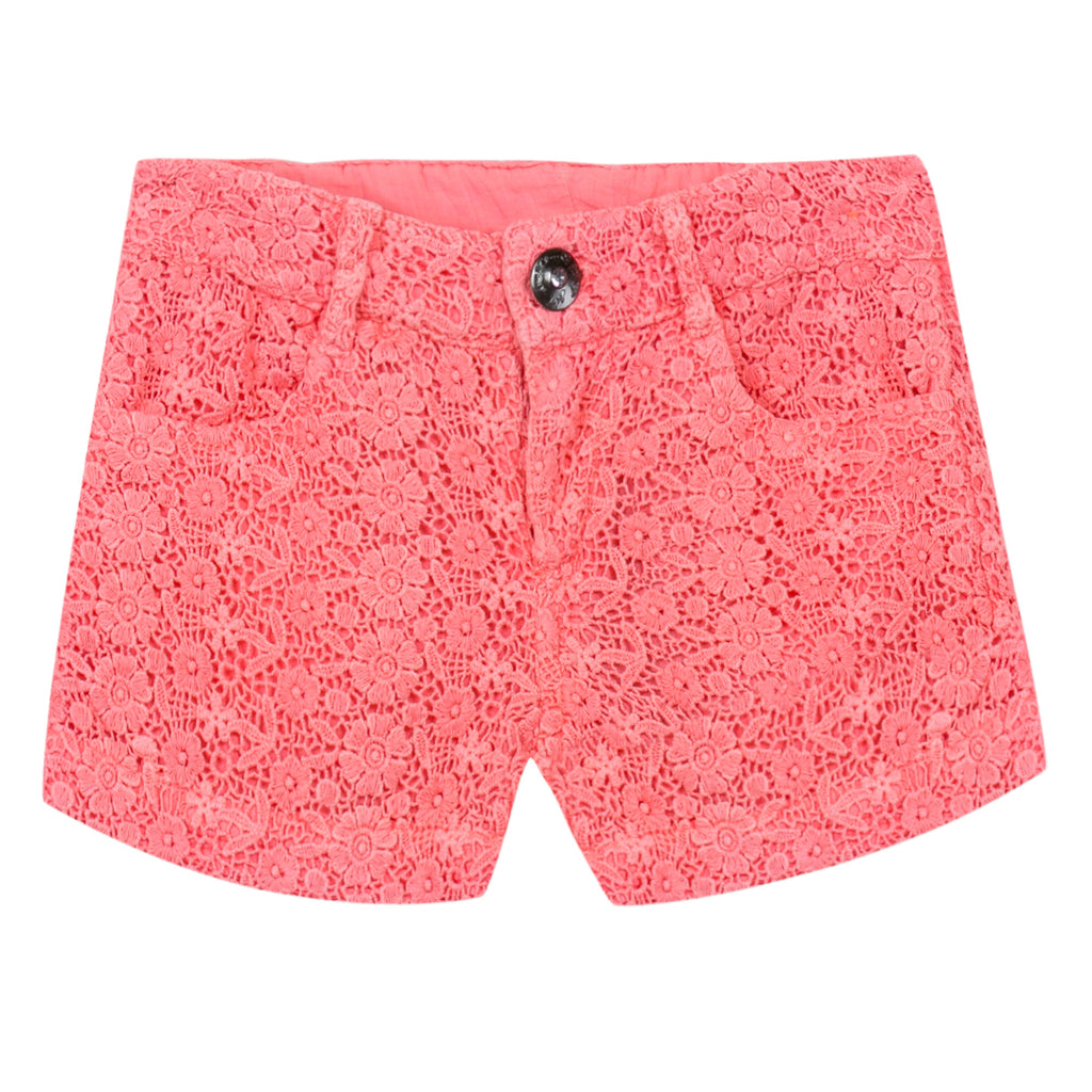 3 Pommes Coral Shorts