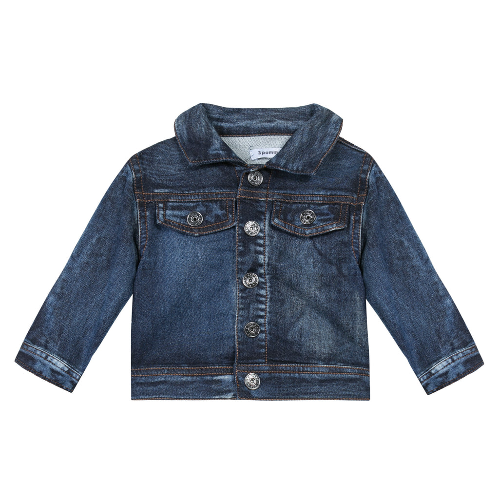 3 Pommes Indigo Fun To The Sun Jacket