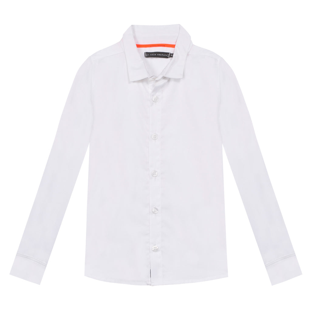 Jean Bourget J-Little Couture Kid Garcon Shirt White