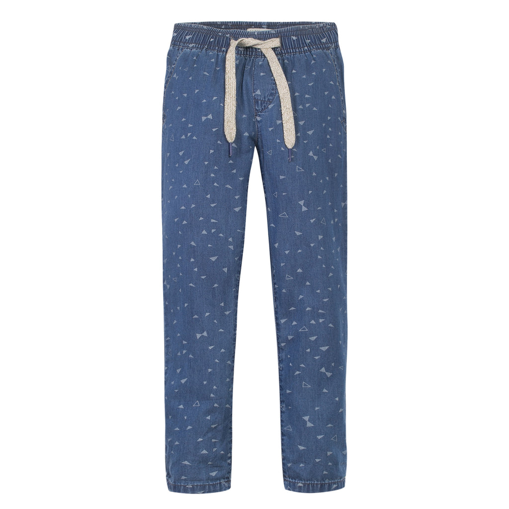 Jean Bourget J-Kid Fille Casual Chic Trousers Marine Blue