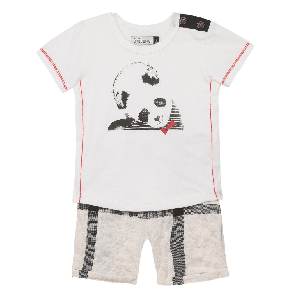 Jean Bourget J-Baby XXX Small Outfit Ecru