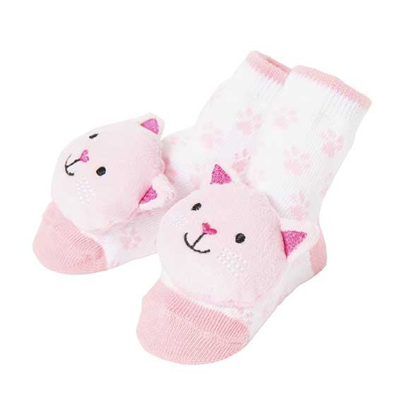 CR Gibson Kitten Rattle Socks