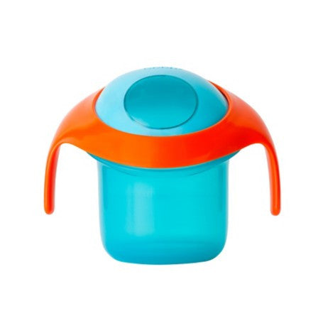 Boon Snack Container - Black/Orange