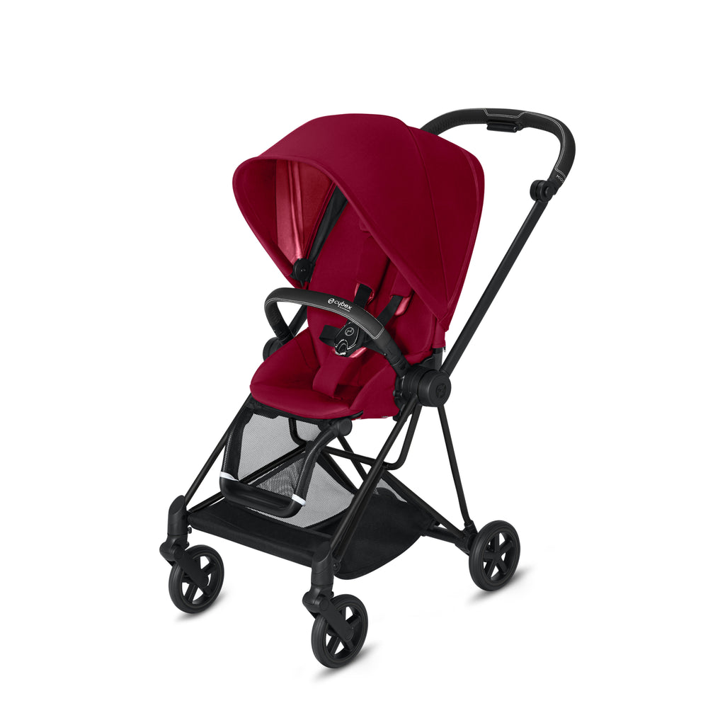 Cybex 2019 Mios- Matt Black + True Red (One Box)
