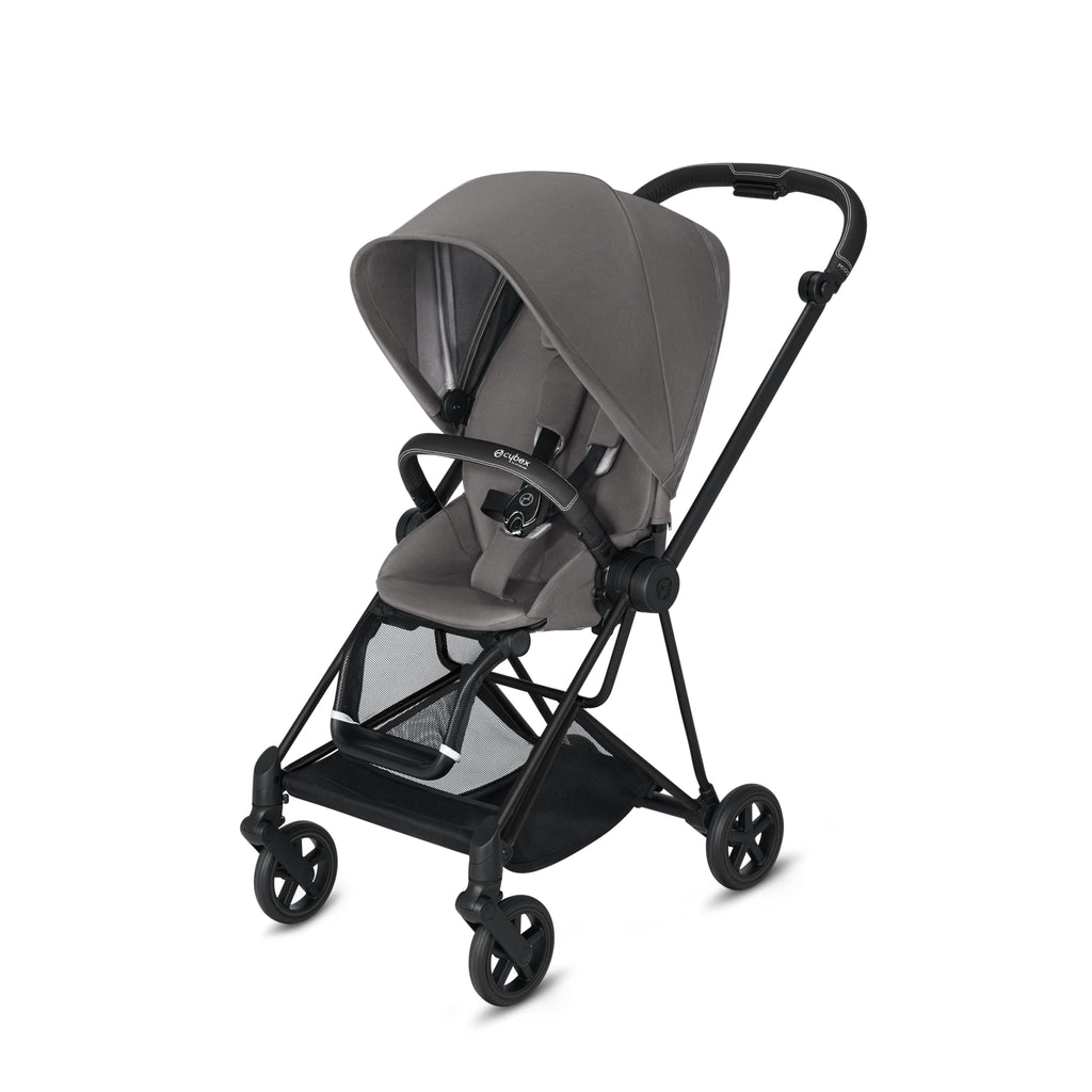Cybex Mios 2 Matt Black + Manhattan Grey Seat