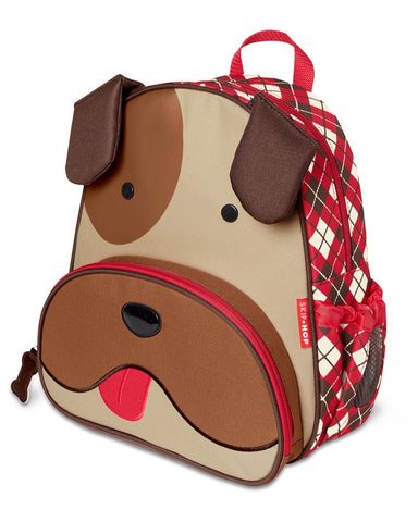 Skip Hop Winter Zoo Backpack - Bulldog