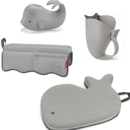Skip Hop Moby Bath Time Essentials Kit - Grey
