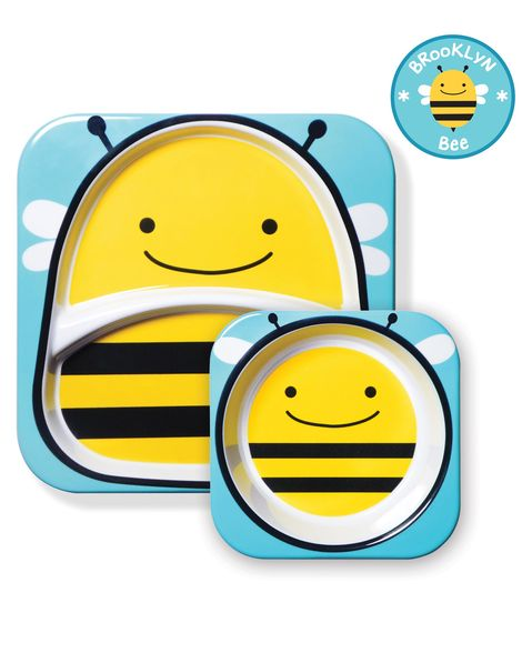 Skip Hop Zoo Melamine Set - Bee