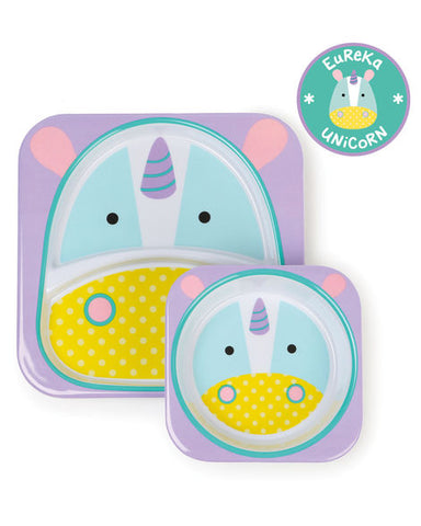 Skip Hop Zoo Melamine Set - Unicorn
