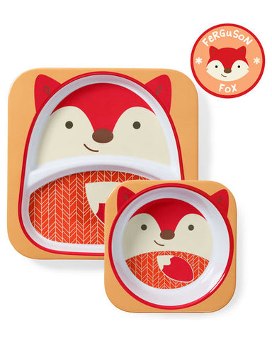 Skip Hop Zoo Melamine Set - Fox