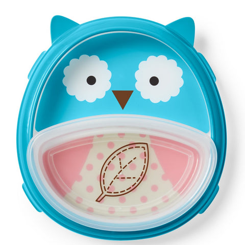 Skip Hop Zoo Smart Serve Plate & Bowl  - Owl