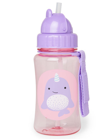 Skip Hop Zoo Straw Bottle - Narwhal