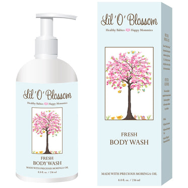 Lil' O' Blossom Fresh Body Wash
