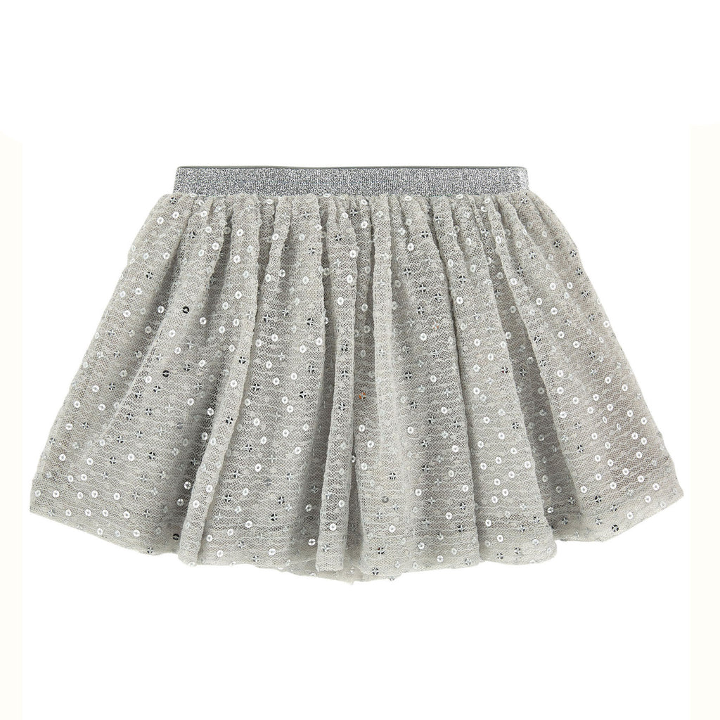 3 Pommes Chic Mouse Grey Shiny Petticoat FW16