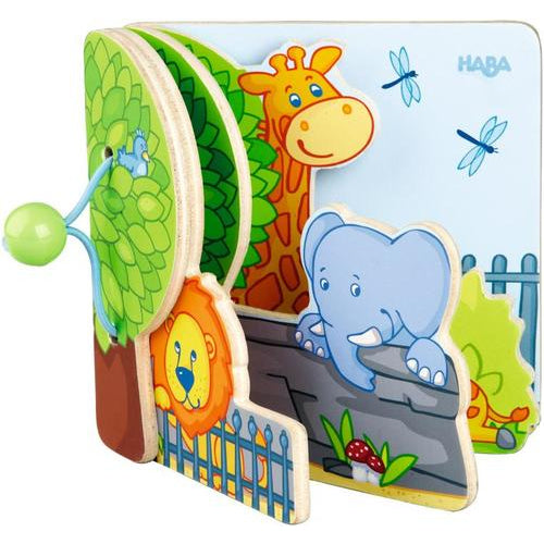 Haba Baby book - Zoo Friends
