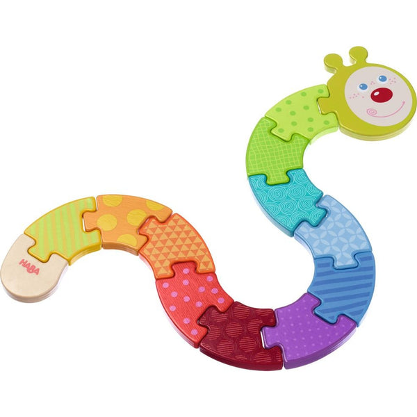 Haba Arranging Game Rainbow Caterpillar