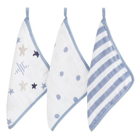 Aden + Anais Washcloth Set - Rock Star