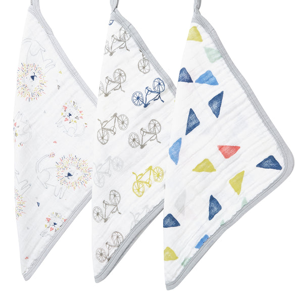 Aden & Anais Washcloth Set - Leader of the Pack