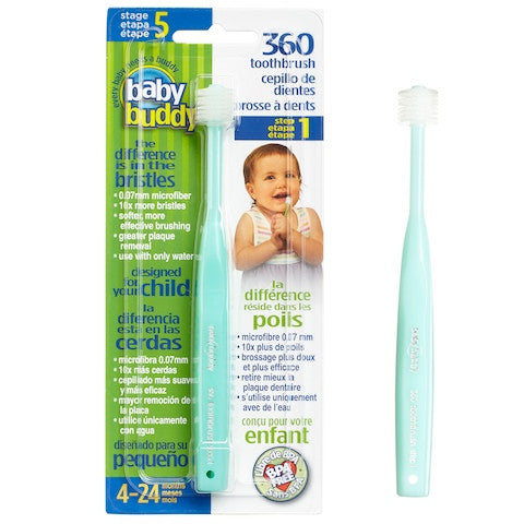 Baby Buddy 360 Toothbrush Stage 5 (4-24m)